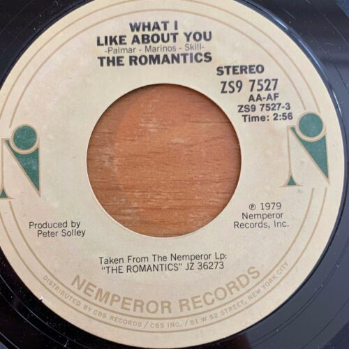 """Romantics - What I Like About You // 7"""" - 1. US-Pressing 1979"""