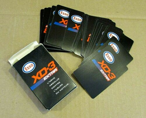 ESSO XD-3 Gasoline Imperial Oil Toronto Canada Old Playing Cards Deck FREE S/H