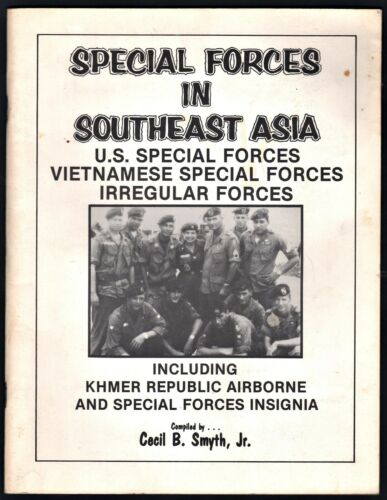 1978 Special Forces in Southeast Asia Insignia Book Vietnamese Irregular ForcesPrice Guides & Publications - 171192