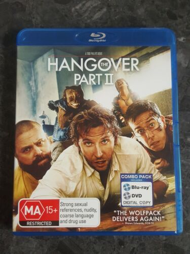 The Hangover : Part 2 (Blu-ray, free postage