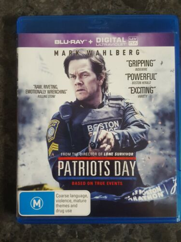 Patriots Day (Blu-ray, 2017) free postage