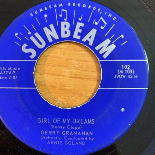 """Gerry Granahan - No Chemise, Please / 7"""" - US-Pressing 1958"""