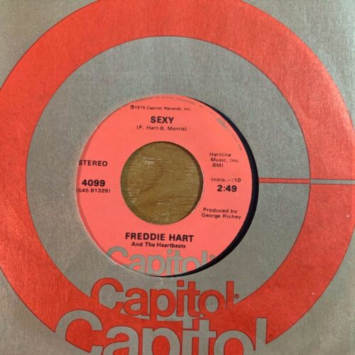 """Freddie Hart & The Heartbeats - Sexy // 7"""" - 1. US-Pressing 1975"""