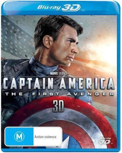 Captain America - The First Avengers : NEW 3D Blu-Ray