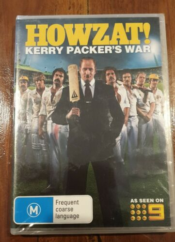 Howzat! Kerry Packer's War: DVD New and sealed Free Postage