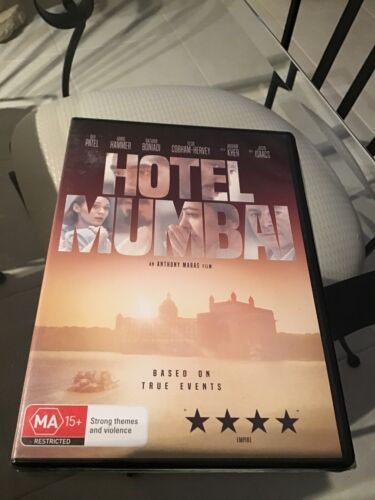 Hotel Mumbai DVD NEW AND SEALED based on true events Dev Patel
