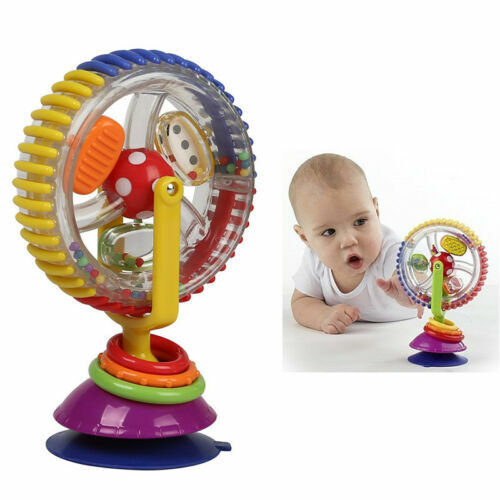 6-12 Month Baby Creative Observe Ferris Wheel Educational Toys Tricolor Rotating