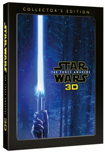 Star Wars The Force Awakens (Harrison Ford, Mark Hamill) 3D + Region B Blu-ray