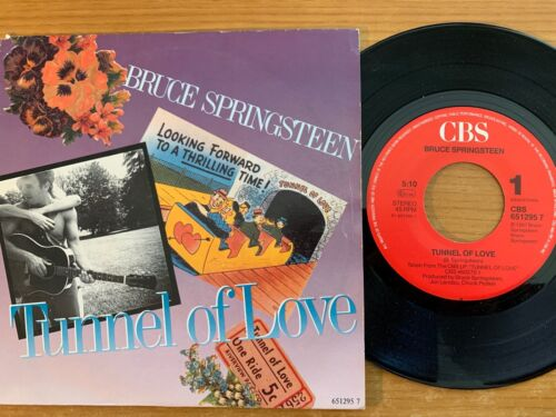 """Bruce Springsteen - Tunnel Of Love // 7"""" - 1. NL-Pressing 1987 - TOP"""