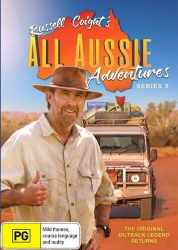 Russell Coight's ALL AUSSIE Adventures Series : Season 3 : NEW DVD