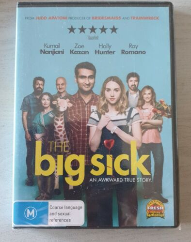 The Big Sick DVD Brand New & Sealed Free Postage