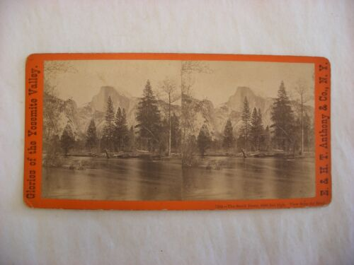 Stereo View Card - Yosemite Valley California E. & H. T. Anthony Co. 7364 #111