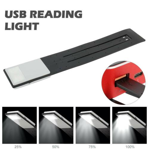 LED USB Rechargeable Reading Light Kindle Book Lovers With 4-Grade Brightness