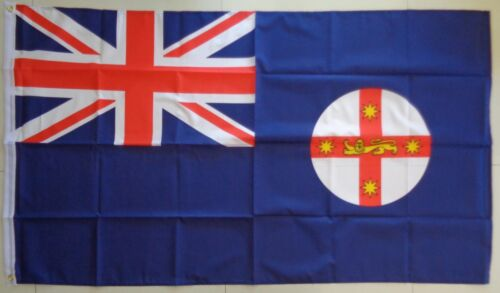 New South Wales Flag LARGE NSW State Australia Flag  AUSPOST REGISTERED TRACKING