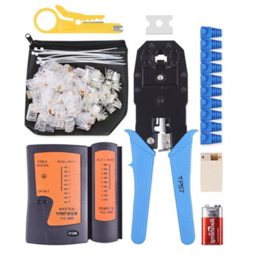 Network wire pliers testing tool home professional grade clamp tool