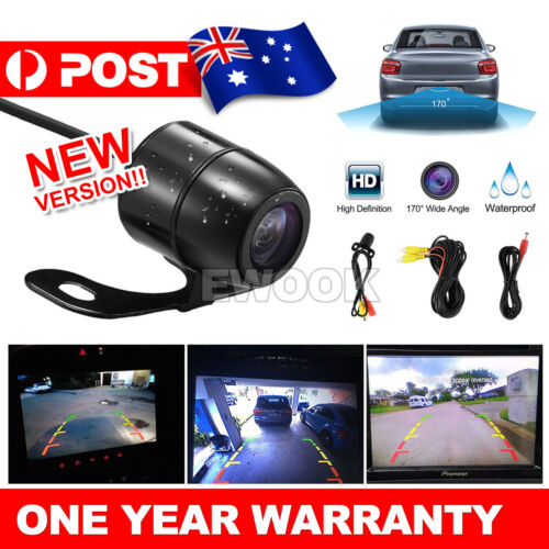 Waterproof 170° Reverse Car Rear View Backup Parking Camera IR Night Vision AU