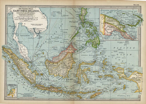 1911 EAST INDIA ISLANDS by The Century Co,