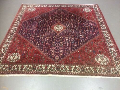 antico-swiss Beautiful Antique indoABADEHI rug 6`8 x 6`7 ft