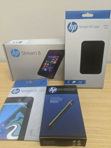*NEW*Hp Stream 8 Windows tablet *included Screen protector and case!*