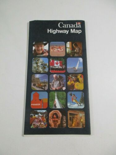 Canada Highway Travel Road Map~Box 26