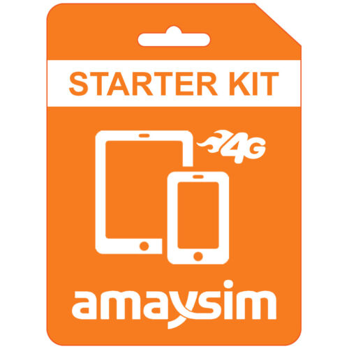 $20 AMAYSIM 5GB DATA & UNLIMITED CALLS & TEXT FREE POST WITH TRACKING