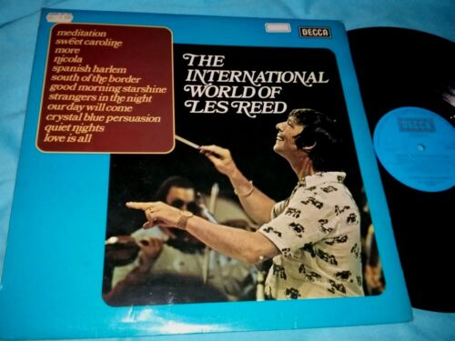 THE INTERNATIONAL WORLD OF LES REED, 12-inch vinyl LP 33 rpm, made in England