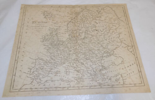 c1816 Antique Map /// EUROPE