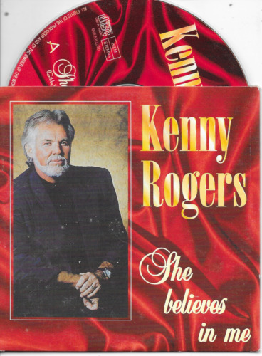 KENNY ROGERS - She believes in me CD SINGLE 2TR Dutch Cardsleeve 1998 Country