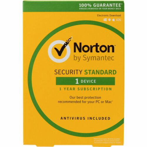 Norton INTERNET SECURITY 1 PC Devices Windows Mac Android iOS