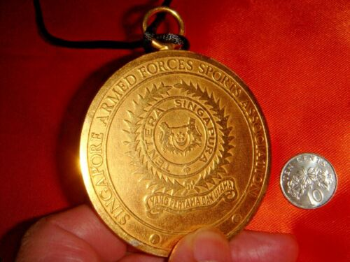 Singapore, SAFRA 1969 Annual Inter-Unit Judo Competition, Champion Medal