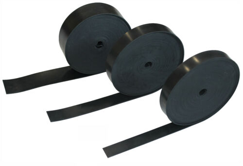 SOLID NEOPRENE RUBBER STRIP - VARIOUS SIZES OF RUBBER STRIPS AVAILABLE <br/> SELECT 5-10MTR LONG, 25MM-400MM WIDTH, 1.5MM-6MM THICK