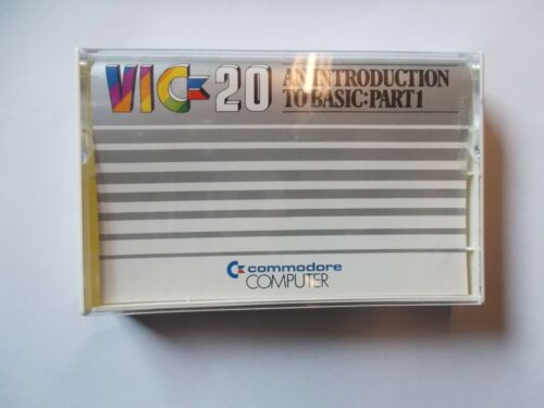 Commodore Vic 20, An Introduction To Basic, Part 1, 1 Cassette, # K- 228-12