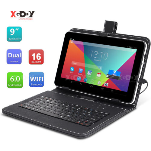 """Xgody 9"""" INCH Android 6.0 Tablet PC Quad-Core 16GB Dual Camera Wi-Fi 2xMode Tab"""