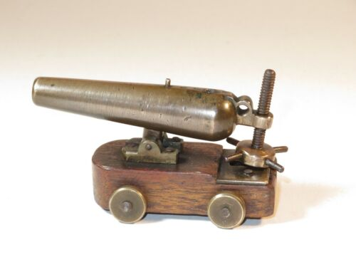 NICE 19TH CENTURY WORKING MODEL OF A BRONZE NAVAL CANNON Maritime Cannons & Cannon Balls - 184484