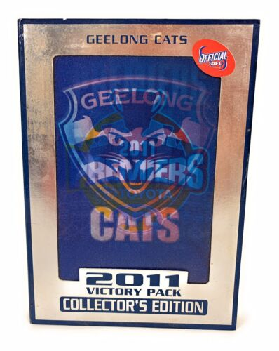 AFL - Geelong CATS 2011 Victory Pack COLLECTOR'S EDITION (DVD, 4 Disc Set)