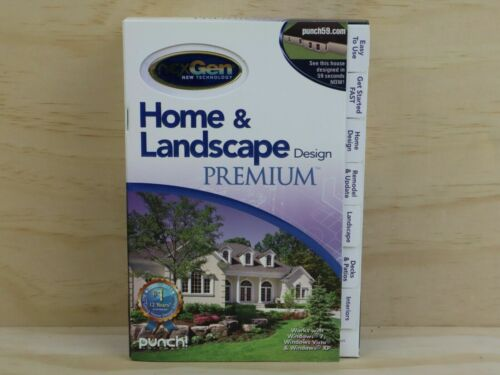 Nexgen New Technology Home And Landscape Design Premium PC Software - New