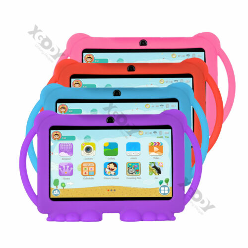 Xgody T702 7'' inch 16GB Android 8.1 Kids Tablet PC Bluetooth Quad-core WiFi Pad