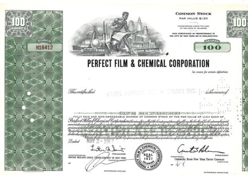 AN OLD AMERICAN COMPANY SHARES DOCUMENT 1967: