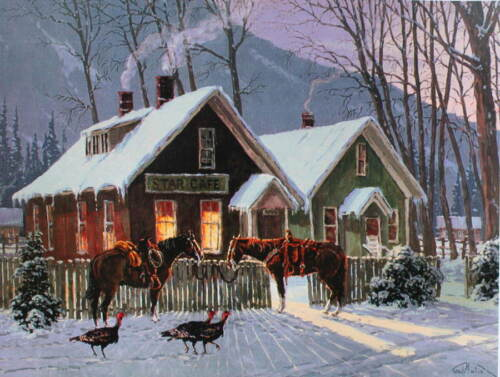 Thanksgiving Guests for Dinner, by Randy Follis