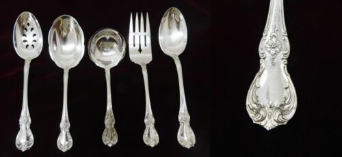 (5) Towle Old Master Sterling Silver Serving Pieces - J1637