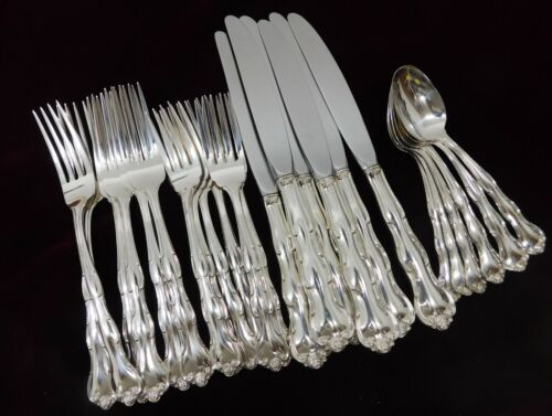 (6) Four Piece Place Settings  Gorham Rondo Sterling -Place Size - J1359