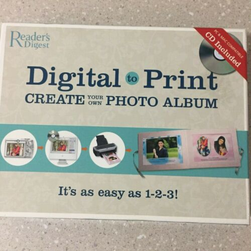 Readers Digest Digital to Print. Create your own Photo Album. NEW