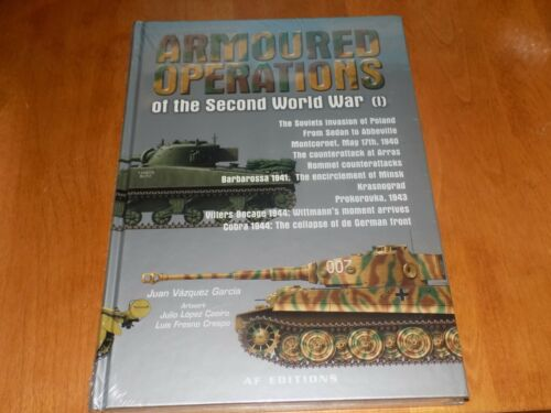 ARMOURED OPERATIONS OF WWII German Russia US Armor Battles Tanks Tank Book NEWPrice Guides & Publications - 171192