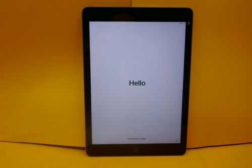 APPLE IPAD 6TH GEN WIFI ONLY 128GB SPACE GREY A1893