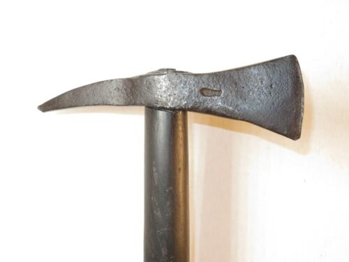 NICE 18TH CENTURY NAVAL BOARDING AXE WITH MAKER'S MARKOriginal Period Items - 4070