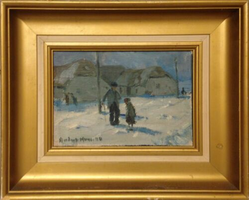Anders Hune (1894-1968): OUT IN THE SNOW