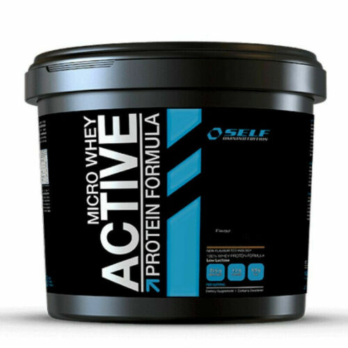 SELF OMNINUTRITION MICRO WHEY ACTIVE proteine del latte isolate 1kg CAFFE LATTE