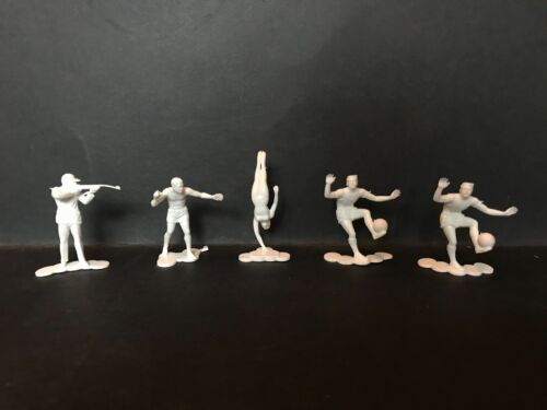 PEPSI COLA VINTAGE RARE 1964 OLYMPIC GAMES SPORTING FIGURES LOT OF 5