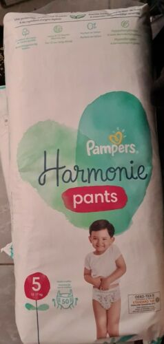 Couches Pampers Harmonie Pants Taille 5. 50 Couches