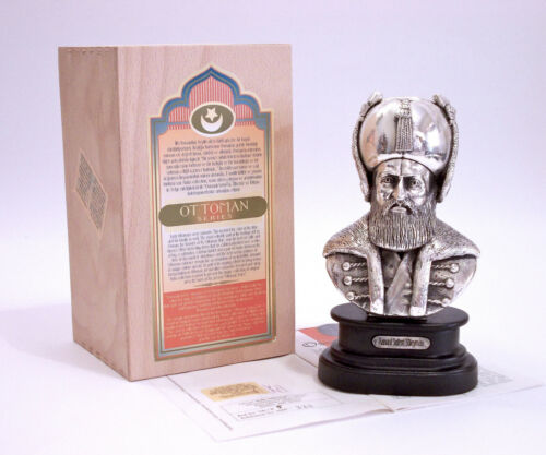 KUKA Collection - FIGURE SULEIMAN THE MAGNIFICENT SILVER PLATED LIMITED EDITION